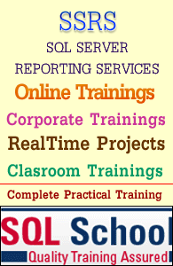 SSRS online training classes