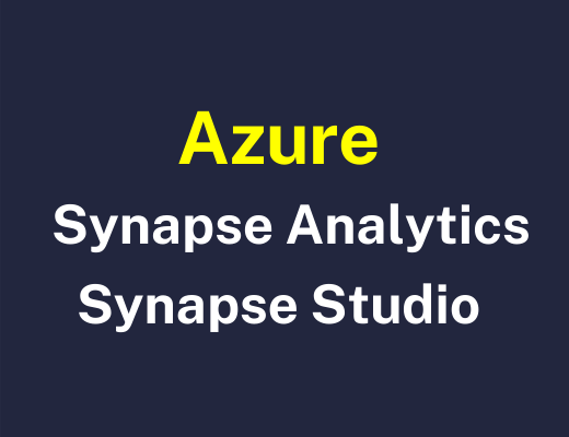 Azure Synapse Studio Training